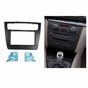 2-Din-Radio-Fascia-for-BMW-1-Series-E81-E82-E87-E88-Stereo-Panel-Trim-Kit-Plate