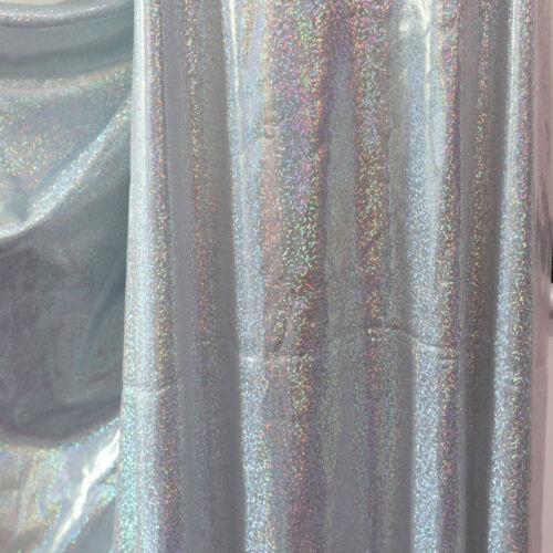 Glitzer Hologramm Stoff Funkeln Folie Party Hochzeit Dekor Hintergrundmaterial