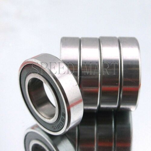 5PCS 6901-2RS 6901RS Deep Groove Rubber Shielded Ball Bearing 12mm*24mm*6mm