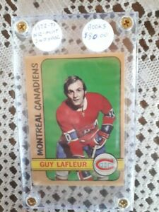 1972-73-MONTREAL-CANADIENS-GREAT-GUY-LAFLEUR-CARD-NO-59-2ND-YEAR