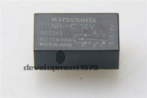 1PCS NEW Panasonic NR-HD-12V Encapsulation:DIP-7,relay