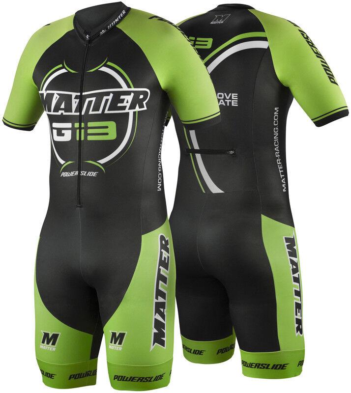 Powerslide G13 Racing Suit Speed Skating Kleidung Matter made in EU
