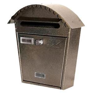 Cassetta Cassette Posta Postale Ferro Battuto Buca Per Le Lettere Lettera 36x13x