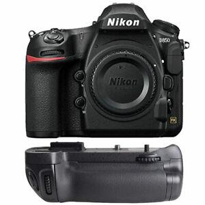 Nikon D850 45.7MP Digital SLR DSLR FX-format Camera Body +Battery Grip Kit New