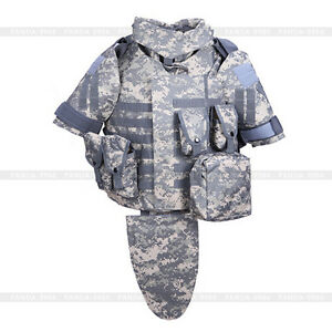 Tactical-Airsoft-OTV-Body-Armor-Carrier-Vest-amp-Pouches-Military-Combat-Survival
