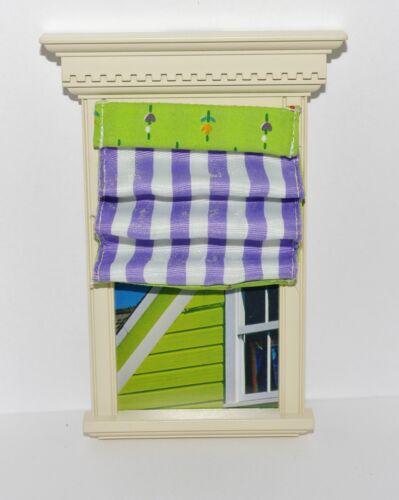 Dollhouse 1:12 Miniature Magnet SHADE American Girl AG Mini PURPLE ILLUMA ROOM