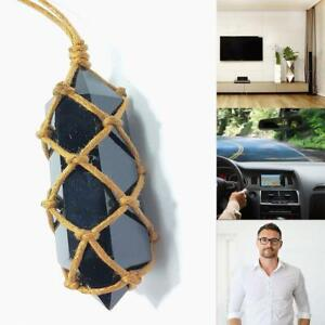 Women-Mens-Crystal-Moonstone-Labradorite-Pendant-Natural-Stone-Necklace