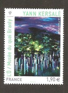 FRANCE 2015 - N°4935 OEUVRE de Yann KERSALE  NEUF ** LUXE MNH