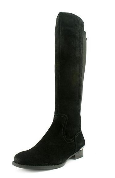più ordine Alfani Cabbie donna Dimensione 5 nero Leather Leather Leather Fashion Knee-High stivali  molte concessioni