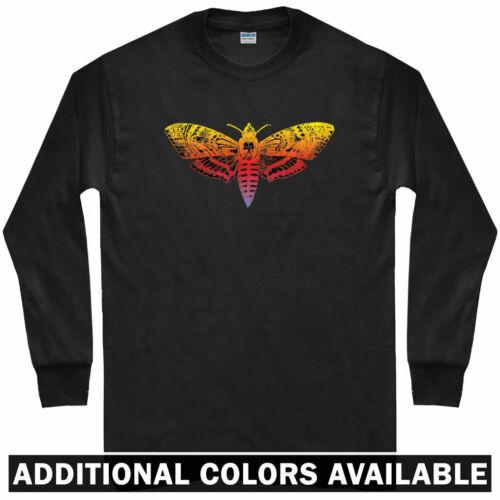 LS Dracula Hannibal Men // Youth Deaths Head Hawkmoth Long Sleeve T-shirt