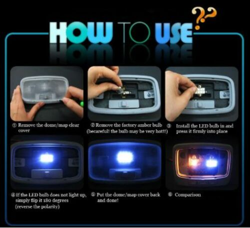 11pcs LED Blue Light Interior Package Kit for Kia Optima 2011-2015