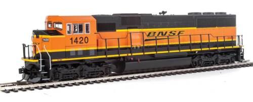 BNSF Railway//Wedge #1420 Walthers HO Scale EMD SD60M//3-Piece Standard DC