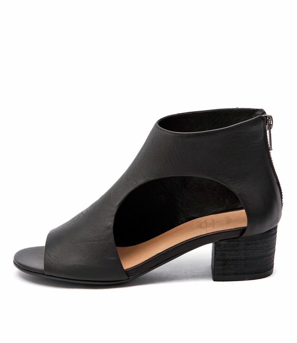 New Silent D Exia Black Black Black Womens shoes Casual Sandals Heeled e1d673