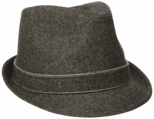 NWT Haggar Men/'s Donegal Fedora color Brown size small//medium MSRP $50.00