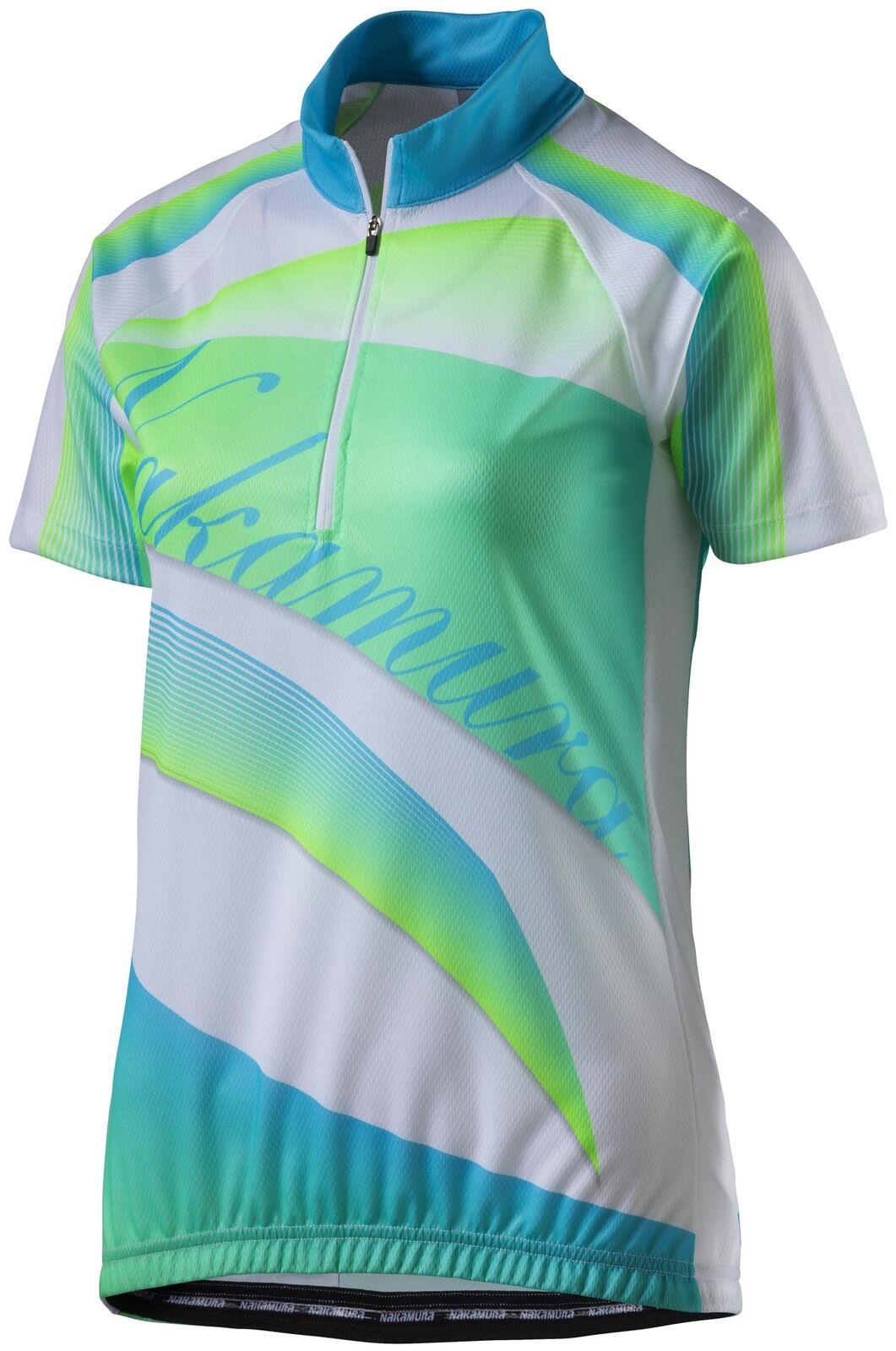 Nakamura Ladies Cycling Jersey EABHA fahrradtrikotradshirt T-Shirt Bike Shirt