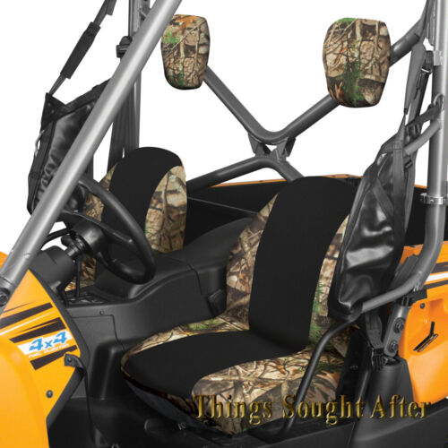 CAMO SEAT COVER SET for 2012-2013 YAMAHA RHINO 450 660 700 Cloth Fabric Bucket
