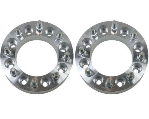 "2 PC 2011 GMC Sierra 2500HD 3500HD 8 Lug 2/"" inch Wheel Spacers Adapters Duramax"