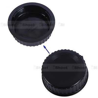 New Rear Cap Cover Protector with installation Point fr Nikon DX FX F Mount Lens