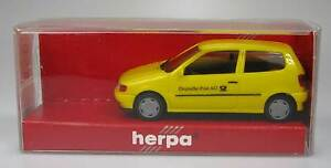 Herpa-VW-Polo-2-turig-deutsche-post-ag-1-87-042451-OVP-nuevo