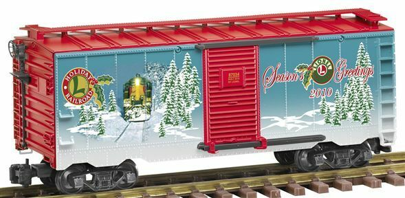 Lionel new 8-87034   2010  Large scale Holiday boxcar