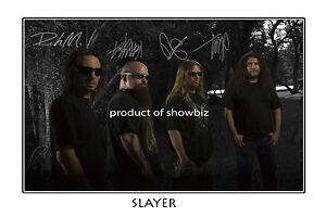 SLAYER-AUTOGRAPHED-SIGNED-ORIGINAL-POSTER-GREAT-PIECE-OF-MEMORABILIA
