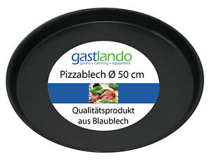 10 Stück Pizzaform Pizzablech Backblech Ofenform rund Ø 50 cm Gastlando