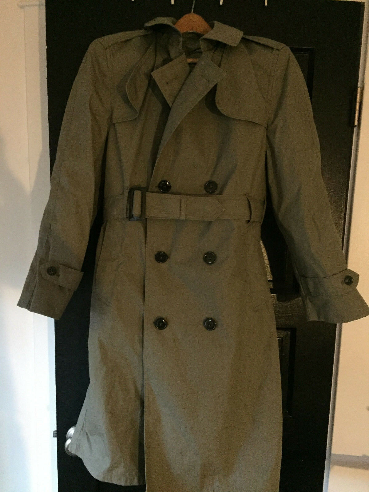 Nueva Agencia de Logística de Defensa valor Colección 36S Piloto  Abrigo Chaqueta verde Tan  venta con alto descuento