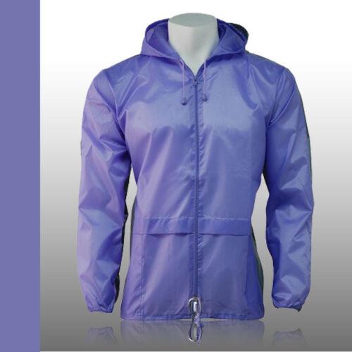 6XXL Brand New Lightweight Unisex Kagoul Rain Coat Jacket Mac Kagool Cagoule XS