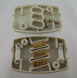 Kabelverbinder-Kabelgarnitur-Verbindungsdose-mit-Schraubklemme-3-Polig-13-Amp