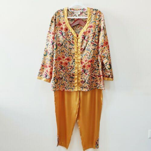 Vintage| Victoria's Secret Gold Label Silk Pajamas