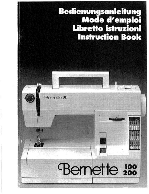 BERNINA Bernette 40 Sewing Machine EBay Best White Sewing Machine Model 1265
