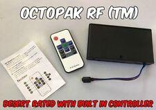 Octopak RF (Tm) - AA Battery Supply Pack Controller RGB LED Strip Light 10 Key