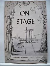 KEAN Playbill ALFRED DRAKE / JOAN WELDON Tryout BOSTON Flop 1961
