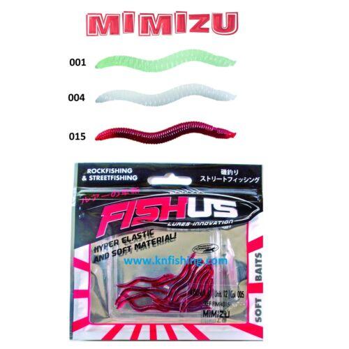 YUKI/_FISHUS/_/'/'MIMIZU/'/'/_SILICON/_LURES/_SPINNING/_LRF