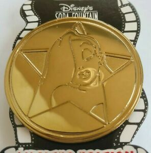 Disney-Studio-Store-Hollywood-JESSICA-Rabbit-GOLD-Star-Coin-Pin-LE300-DSF-HTF
