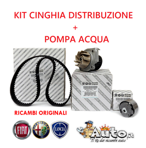 KIT-CINGHIA-DISTRIBUZIONE-ORIGINALE-POMPA-ACQUA-FIAT-500-PANDA-PUNTO-1-2-1-4