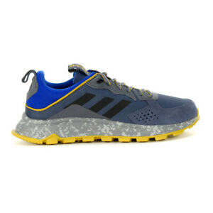 Adidas Men's Response Trail Trace Blue/Core Black/Onix Trail Shoes EE9829 NEW