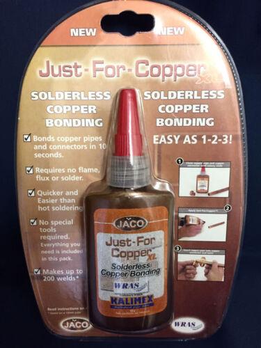 Solderless Copper Bonding ! UK Stock Location 2 x Just For Copper 50g