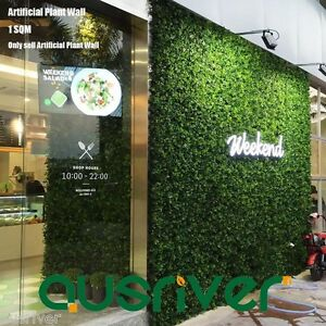 Image Is Loading 1SQM Artificial Plant Wall Hedge Mixed Plants Vertical
