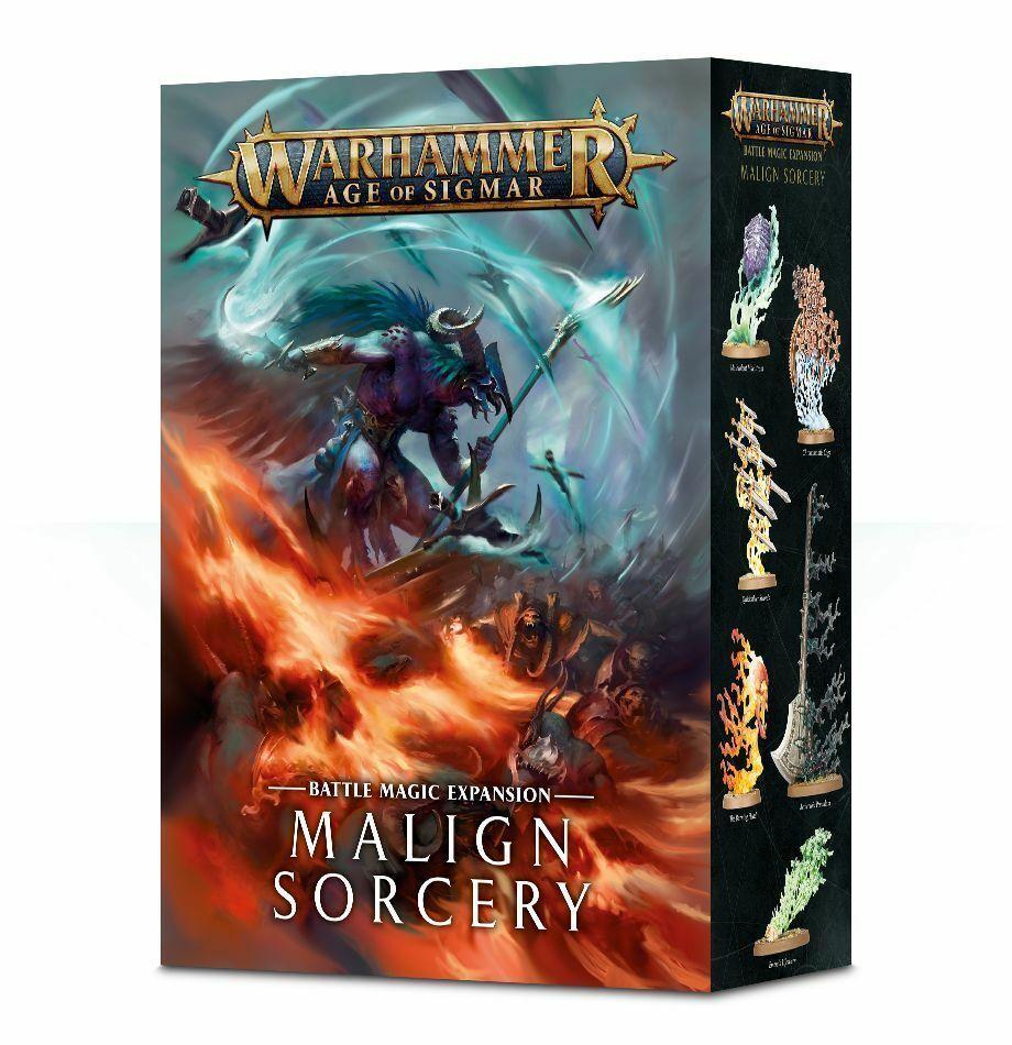 Warhammer Age of Sigmar Malign Sorcery Battle Magic Expansion