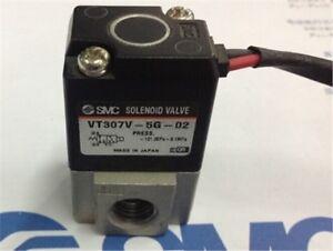 1-Stuecke-Smc-Magnetventil-Brandneue-VT307-5DZ-02-ml