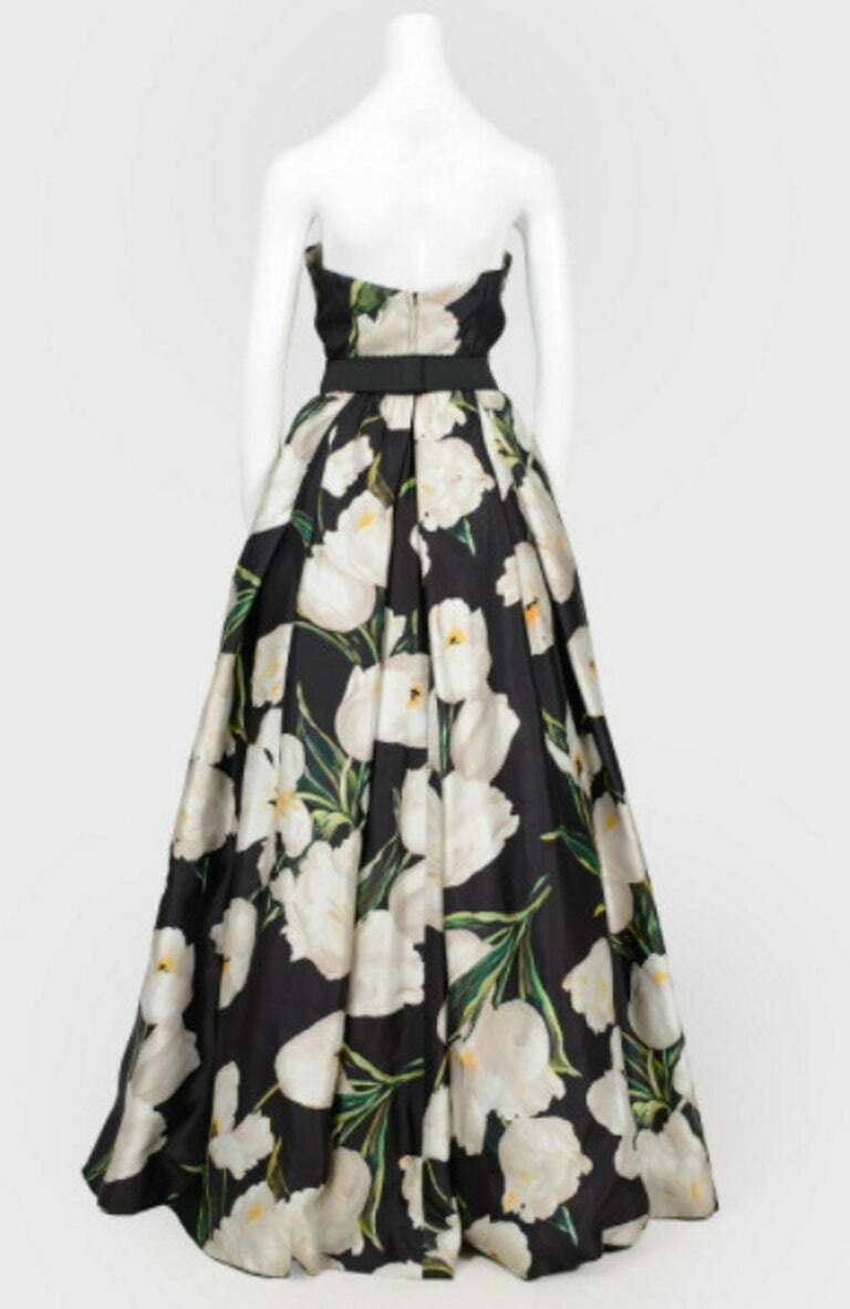 DOLCE and GABBANA TULIP PRINT GOWN 42 - 6 - image 2