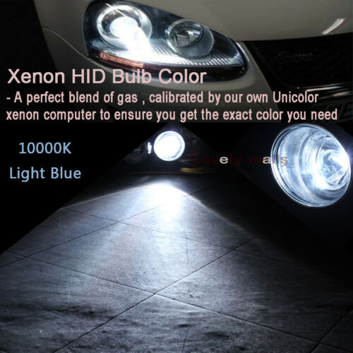 55W 75W 100W HID Xenon Headlight Conversion KIT High Beam H1 3K 43K 5K 6K 8K LQ