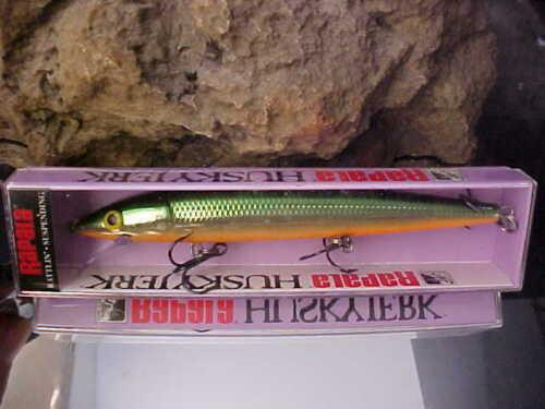 """Rapala 5 1//2/"""" Suspend Husky Jerk HJ14 TSD in TENN SHAD for Bass//Walleye//Pike"""