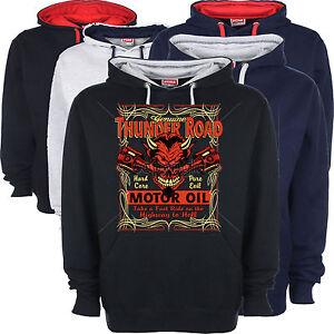 Road Felpa Cappuccio Con V8 American Hot Personalizzato Rod Thunder Ratrod TvxtXq