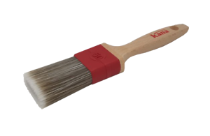 "hold more paint! KANA Premier Tank Paint Brush 3/"" 2-in-1 combination bristle"