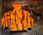 Blaze Camo Orange Hooded Sweatshirt  hoodie Deer Hunting Camoflauge Jackets M-6X