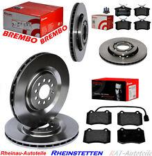 Brembo Bremsscheiben SET KITBremsbeläge 323mm+256mm SEAT Leon 1M1 1.8,2.8 Cupra