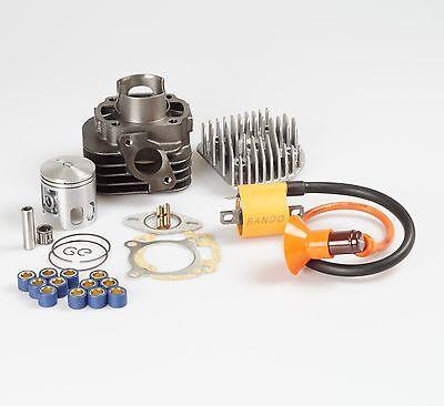 70cc Big Bore cylinder kit 47mm for Eton 50cc 2T Atv quads