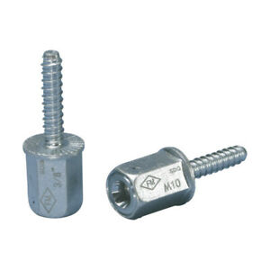 Nvent-Erico-CRLAM10EG-Caddy-M10-Rod-Lock-Anchor-390010-Packs-of-25
